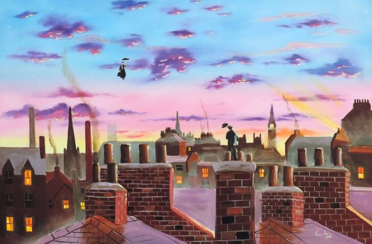 Mary Poppins prints #painting #art