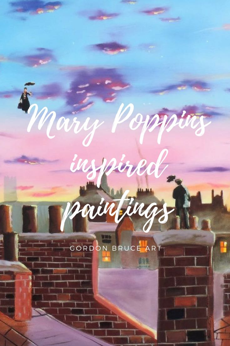 Mary Poppins paintings